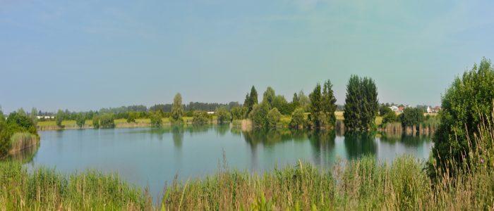 Der Bergersee in Kissing - für Angler ein beliebter Ort